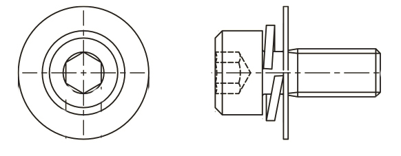 hex head sems1